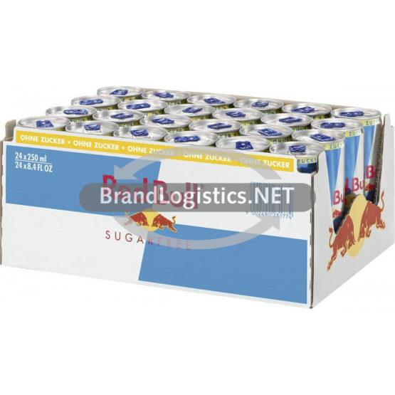 Red Bull Sugarfree DE Alu Can 24×250 ml HighTray