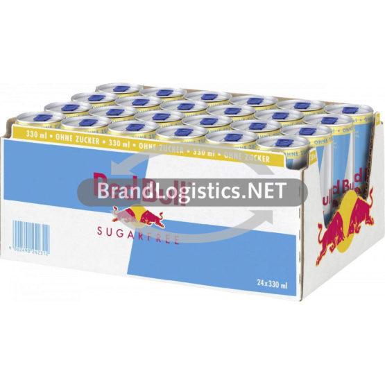 Red Bull Sugarfree DE Alu Can 24×330 ml HighTray