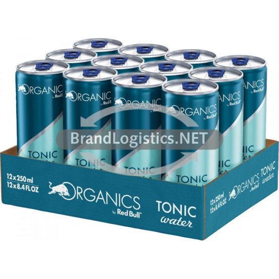 Red Bull Organis Tonic Water 250 ml 12er Tray DPG