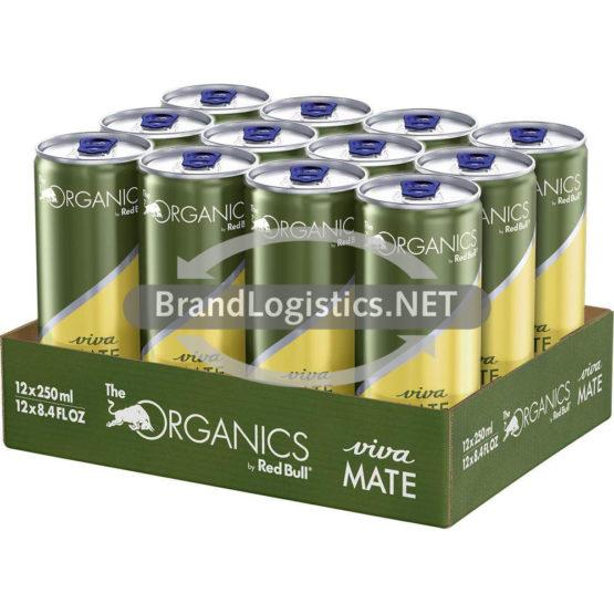 Red Bull Organics Viva Mate 250 ml 12er Tray DPG