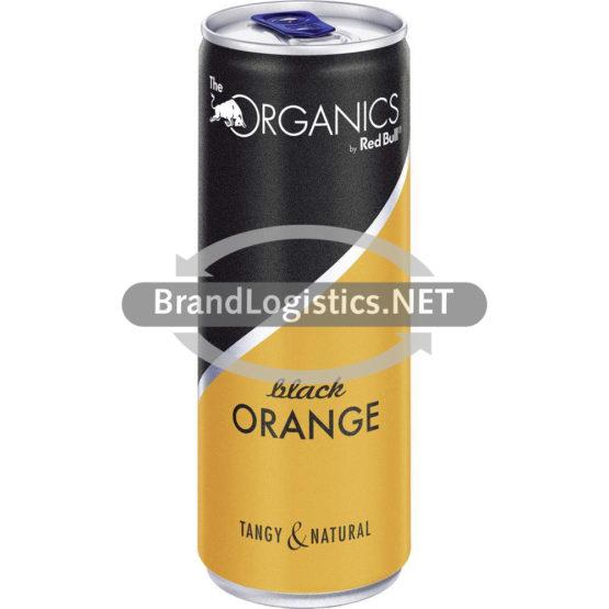 Red Bull Organics Black Orange DE Alu Can 250 ml