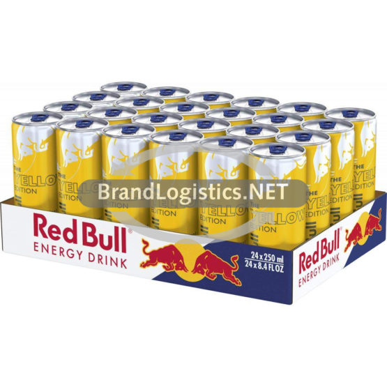 Red Bull Yellow Edition DE 24×250 ml DPG