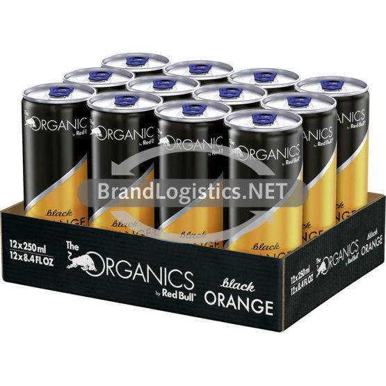 Red Bull Organics Black Orange 250 ml 12er Tray DPG