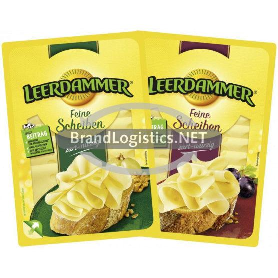Leerdammer Feine Scheiben zart-nussig 110 g und Leerdammer Feine Scheiben zart-würzig 110 g