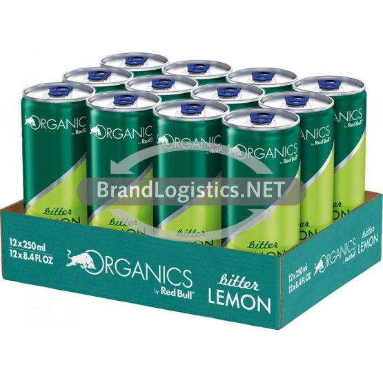 Red Bull Organics Bitter Lemon 250 ml 12er Tray  DPG