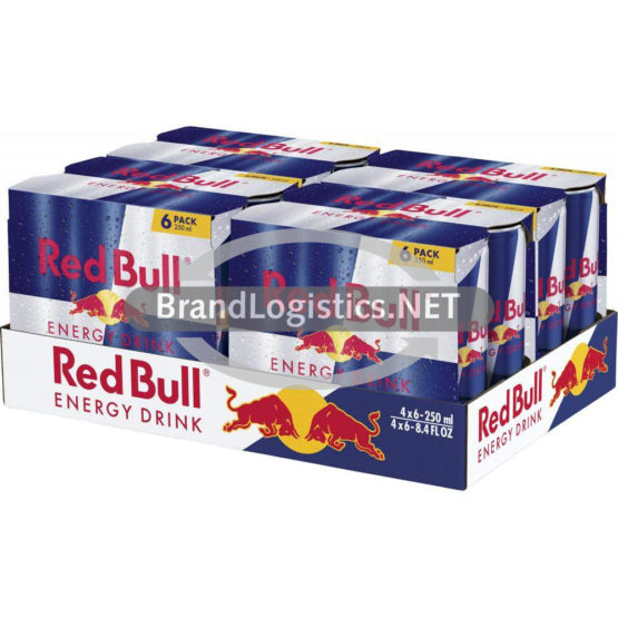 Red Bull Energy Drink 250 ml 6PK DPG Tray