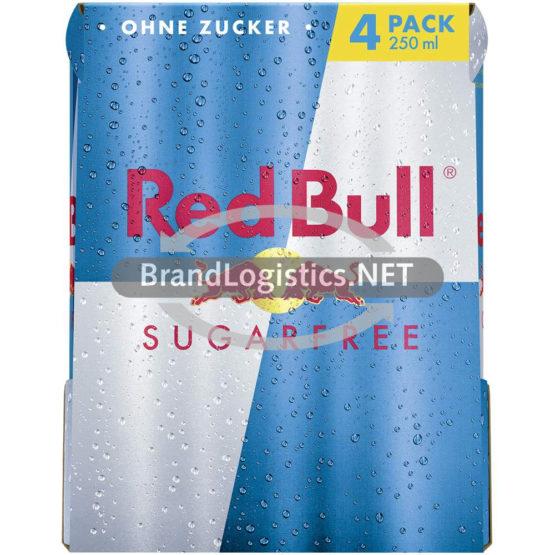 Red Bull Sugarfree 250 ml 4-PK DPG E-Commerce