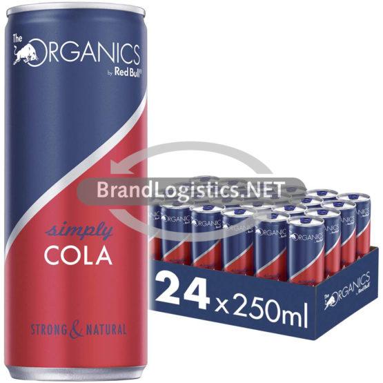 Red Bull Organics Simply Cola 250 ml 24er Tray DPG E-Commerce