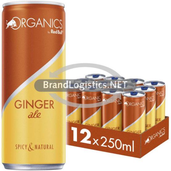 Red Bull Organics Ginger Ale 250ml 12er Tray DPG E-Commerce