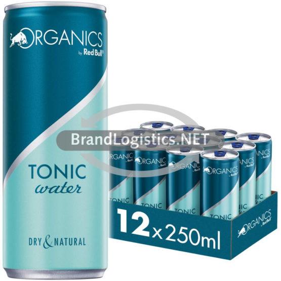 Red Bull Organis Tonic Water 250 ml 12er Tray DPG E-Commerce