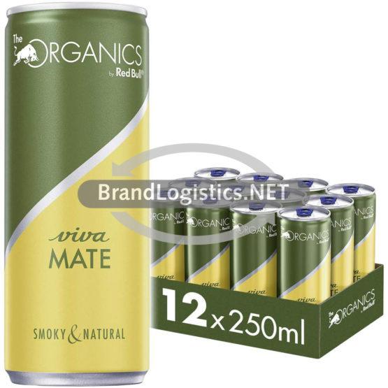Red Bull Organics Viva Mate 250 ml 12er Tray DPG E-Commerce