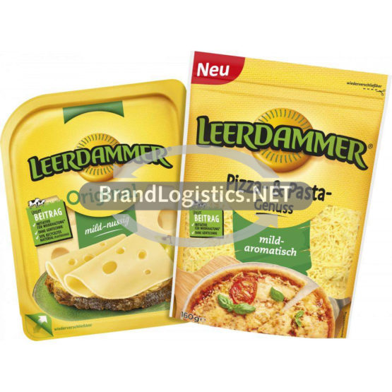 Leerdammer Pizza- & Pasta-Genuss 160 g und Leerdammer Original 160 g