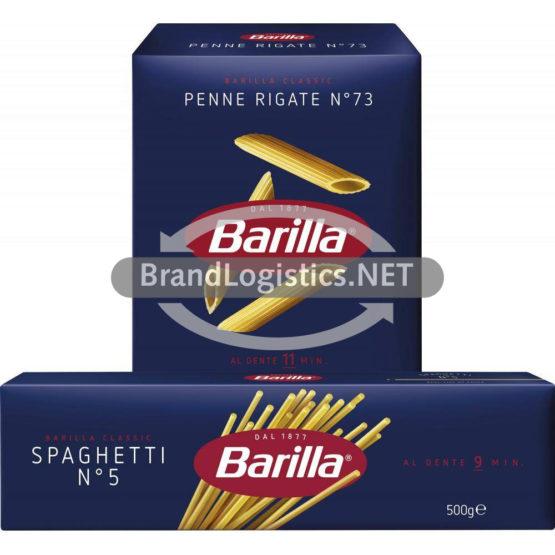Barilla Spaghetti No.5 500 g und Barilla Penne No.73 500 g