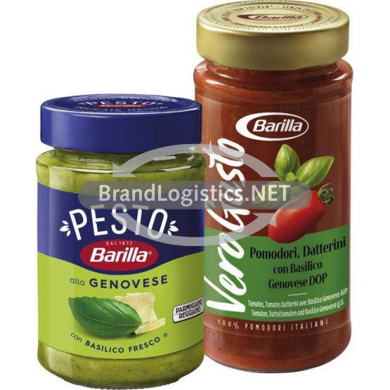 Barilla Pesto alla Genovese 190 g und Barilla Vero Gusto Basilico 300 g