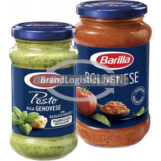 Barilla Pesto alla Genovese 190 g und Barilla Pasta-Sauce Bolognese 400 g