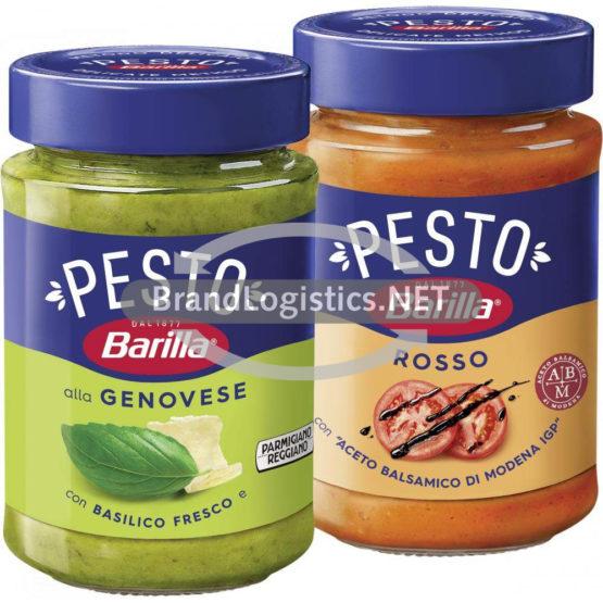 Barilla Pesto alla Genovese 190 g und Barilla Pesto Rosso 200 g