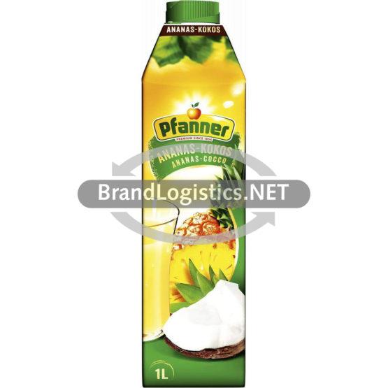 Pfanner Ananas-Kokos Getränk 25% 1 l