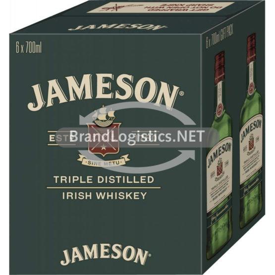 Jameson Irish Whiskey 40% vol. 6×0,7 l