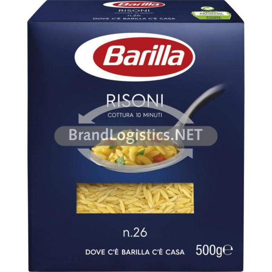 Barilla Suppenpasta Risoni No.26 500g