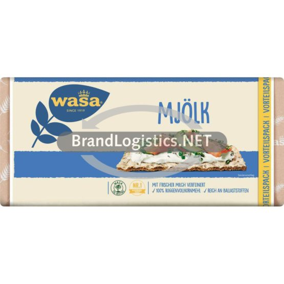 Wasa Mjölk Familienpackung 460g