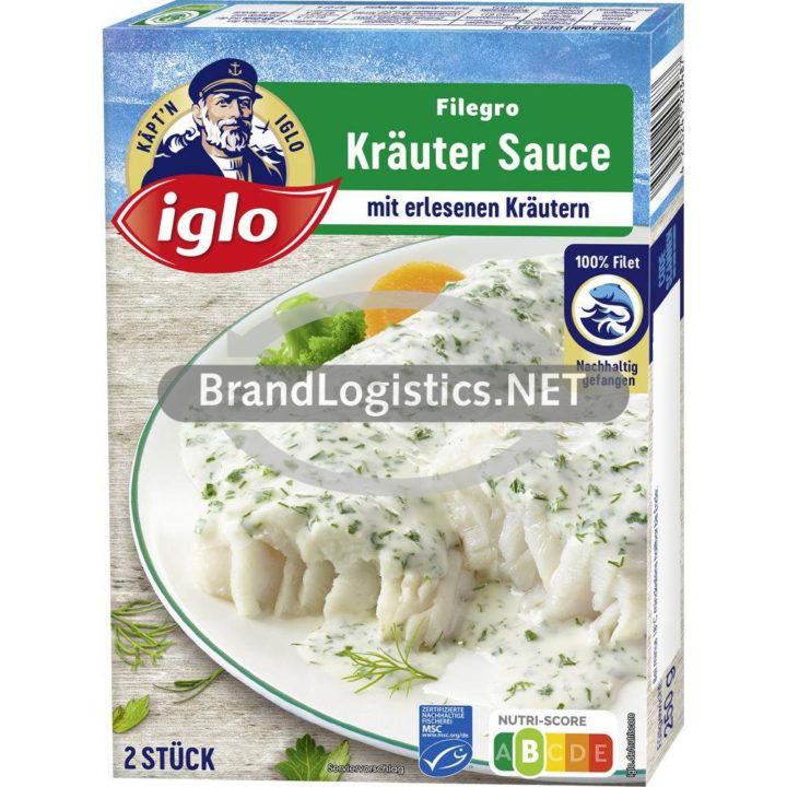 iglo Filegro Kräuter Sauce 250g
