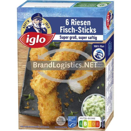 iglo 6 Riesen Fisch-Sticks 240g