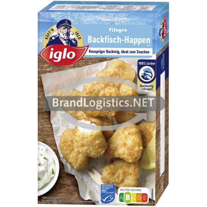 iglo Filegro Backfisch-Happen* 245g