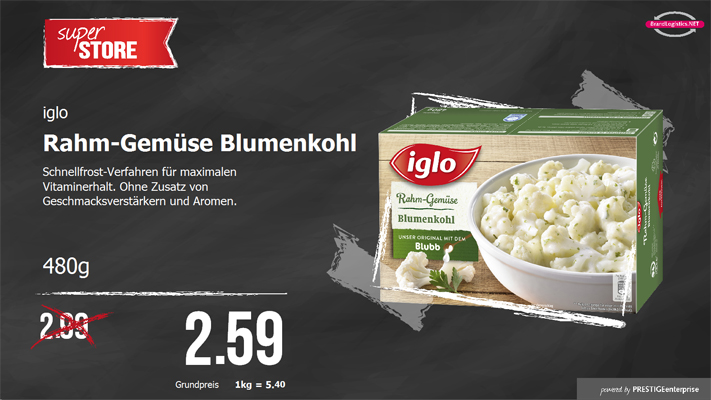 Iglo Blumenkohl